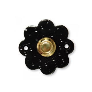 Κουδούνι μπουτόν εξώπορτας ρουστίκ σειρά 224 Μαύρο χρώμα