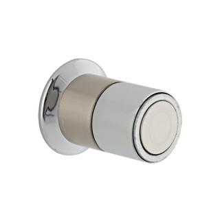 Στόπερ πόρτας-τοίχου 952 μαγνητικό 30mm νίκελ ματ/χρώμιο