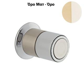 Στόπερ πόρτας-τοίχου 952 μαγνητικό 30mm όρο ματ/όρο