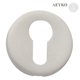 Επιστόμιο πόρτας σειρά 115 Λευκό χρώμα