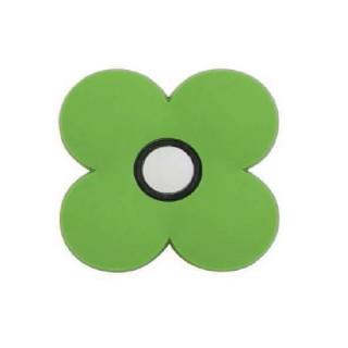 Παιδικό Πομολάκι Επίπλου Λουλούδι Πράσινο Roline 601