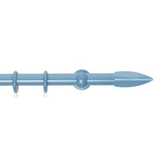 Κουρτινόξυλα Zωγομεταλ Φ25 CP0430 Γαλάζιο