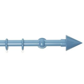 Κουρτινόξυλα Zωγομεταλ Φ25 CP4146 Γαλάζιο