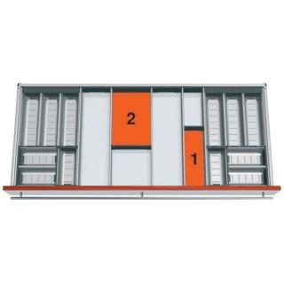 Κουταλοθήκη ORGA-LINE BLUM ανοξείδωτη No120