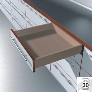 Οδηγός ξύλινου συρταριού TANDEM PLUS με φρένο No50 πλήρης επέκταση