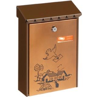 Γραμματοκιβώτιο Καφέ Χάλκινο 311