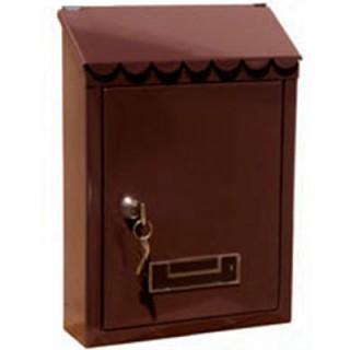 Γραμματοκιβώτιο ΤΧ0080 Καφέ