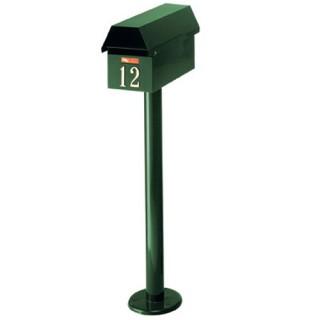 Γραμματοκιβώτιο Kυπαρισσί Zυρίχη 150 με κολώνα