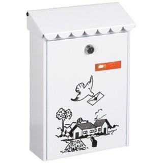 Γραμματοκιβώτιο Λευκό Ντεκόρ 310