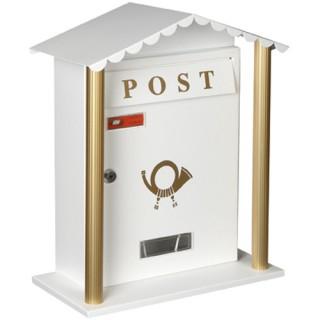 Γραμματοκιβώτιο Λευκό Μονακό 7007
