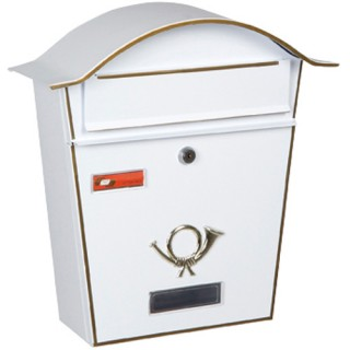 Γραμματοκιβώτιο Λευκό Βιέννη 5001