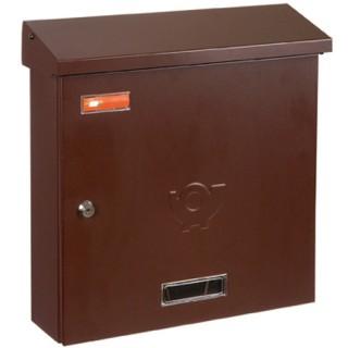 Γραμματοκιβώτιο Καφέ Λονδίνο 9001