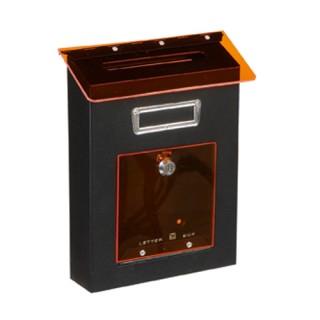 Γραμματοκιβώτιο Μαύρο Βέρνη 305