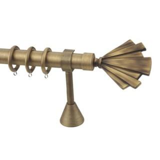 Μεταλλικά κουρτινόξυλα DOMUS ΤΡΙΑΙΝΑ Φ35 160cm