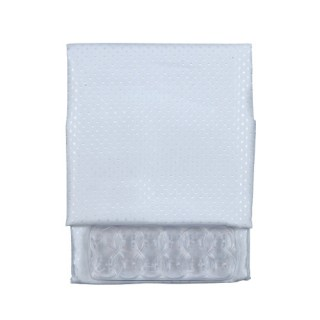 Υφασμάτινες κουρτίνες μπάνιου Ιmport hellas Λευκή