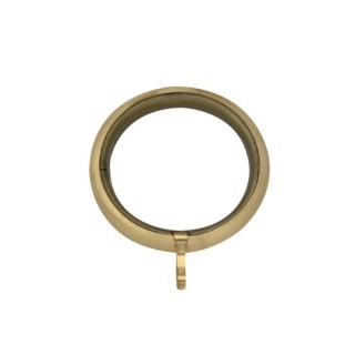 Κρίκος κουρτινόβεργας Φ35 Χρυσό ματ