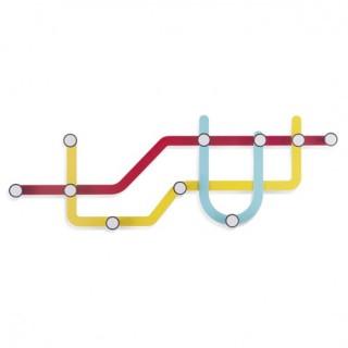 Κρεμάστρα παλύχρωμη Subway Umbra 318187-370