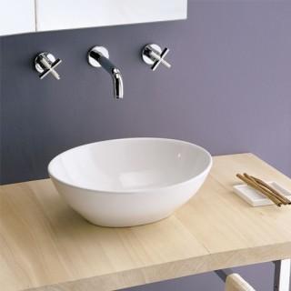 Νιπτήρας μπάνιου Scarabeo OVO 8011