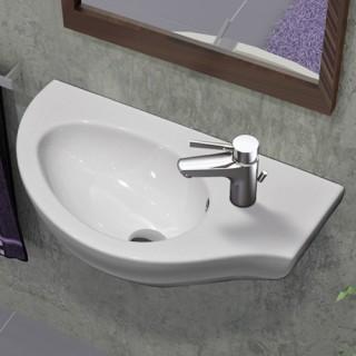 Νιπτήρας μπάνιου Serel Friendly 6741 Δεξιός κρεμαστός