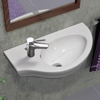 Νιπτήρας μπάνιου Serel Friendly 6742 Αριστερός κρεμαστός